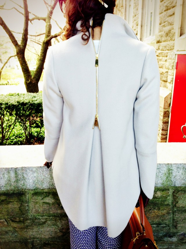 Coat by Ellie Tahari.