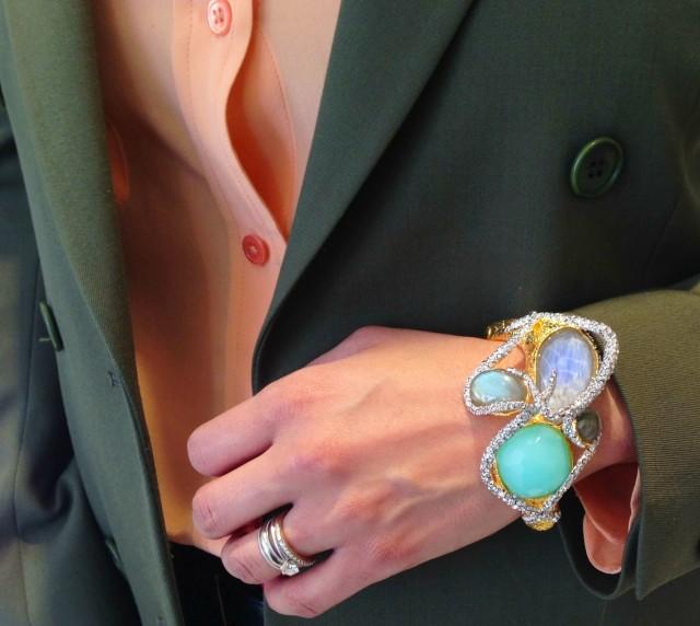Bracelet by Alix Bittar.