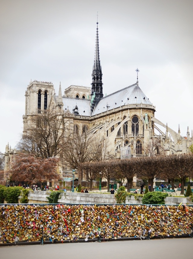 View of Cathedrale Notre-Dame.