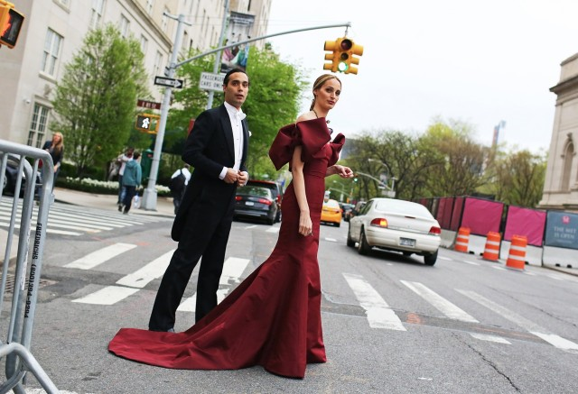 Lauren Santo Domingo in Oscar de la Renta.